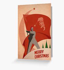 Tarjeta de felicitación Red Christmas