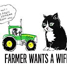 Farmer wants a WiFi by Matt Mawson