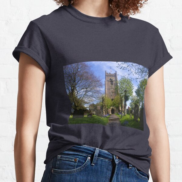 St Michael and All Angels, Highworth , Wiltshire uk Classic T-Shirt