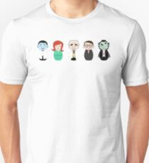 Mad Monster Party Kokeshi Unisex T-Shirt