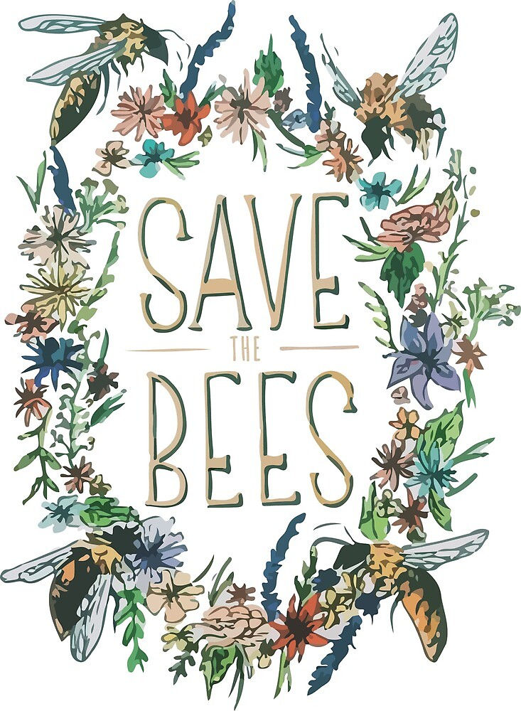Save the Bees! by Claire Mabbett