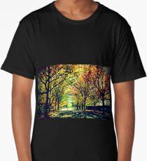 Autumn In Canberra Long T-Shirt