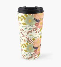 Elegant seamless pattern with flowers Travel Mug