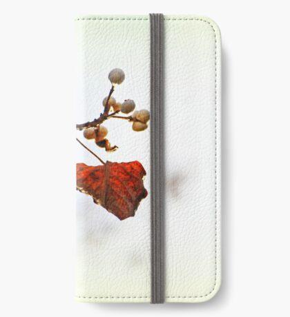 Herbst Flüstern iPhone Flip-Case