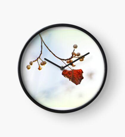 Herbst Flüstern Uhr