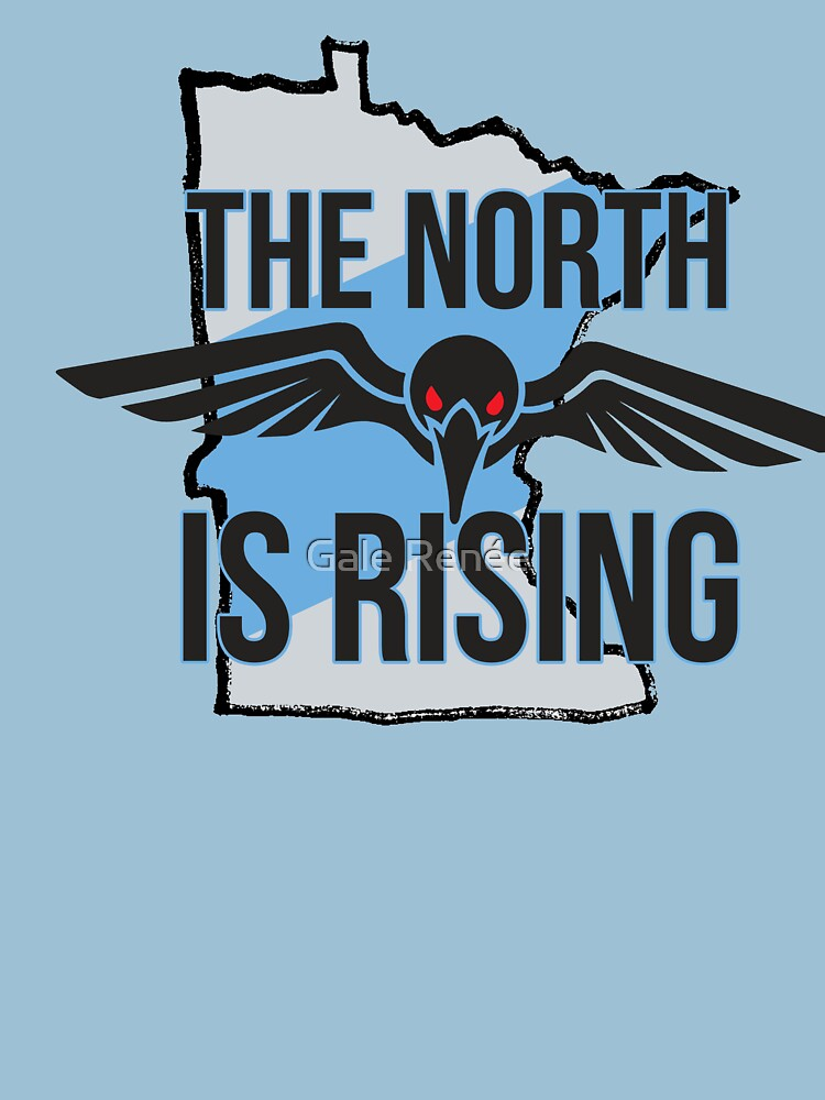 Minnesota United FC - The North is Rising | Unisex T-Shirt