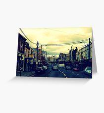 Inner City Suburb Greeting Card