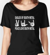 Eagles of Death Metal | Peace Love Death Metal Women's Relaxed Fit T-Shirt