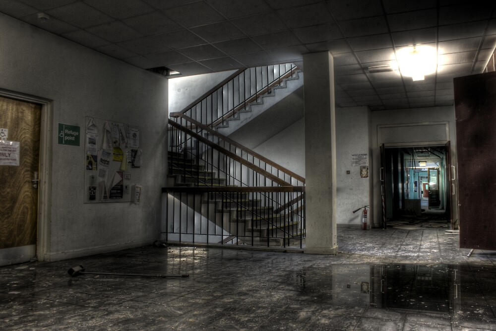 Roaming the halls by Richard Shepherd