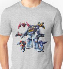 Masterpiece Soundwave and Cassettes Unisex T-Shirt