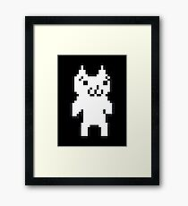 Cat Mario Framed Print
