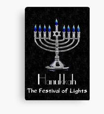 Hanukkah - The festival of Lights Canvas Print