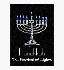Hanukkah - The festival of Lights Photographic Print