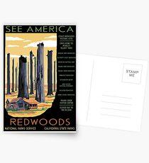 National Parks 2050: Redwoods Postcards