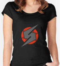 Metroid Screw Attack Women's Fitted Scoop T-Shirt