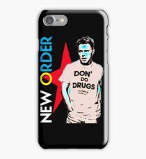 Joy Division New ORDER DONT DO DRUGS shirt  iPhone Case/Skin