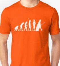 The Dark Side Of Evolution - White  T-Shirt