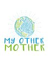 Earth My Other Mother - Earth Scribble in blue and green by jitterfly