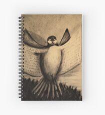 The Book Bird Spiral Notebook