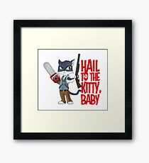 Army of Catness Framed Print
