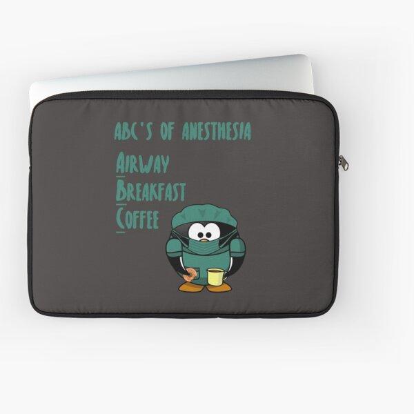 ABCs of Anesthesia Laptop Sleeve