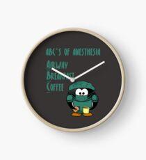 ABCs of Anesthesia Clock