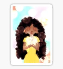 Curly Girl, Soft and Sweet Sticker