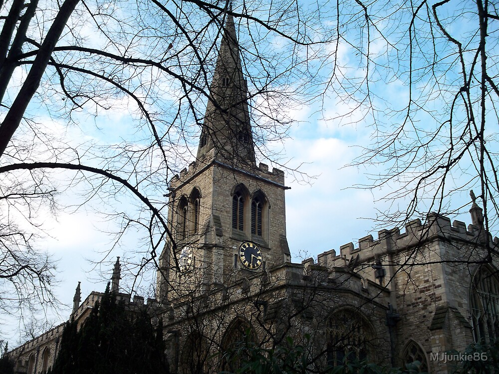 church with tree by MJjunkie86