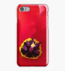 Tulip - Red iPhone Case/Skin