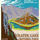 National Parks 2050: Crater Lake by Hannah Rothstein