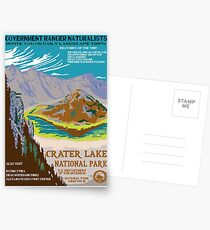 National Parks 2050: Crater Lake Postcards