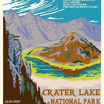 National Parks 2050: Crater Lake by HRothstein