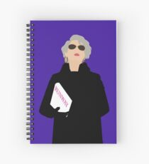 Miranda Priestly- The Devil Wears Prada Spiral Notebook