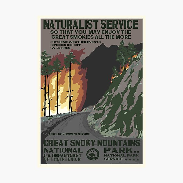 National Parks 2050: Great Smoky Photographic Print