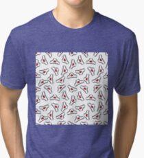 panties doodle pattern Tri-blend T-Shirt