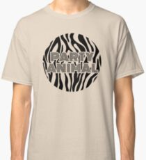 PARTY ANIMAL Zebra version Classic T-Shirt