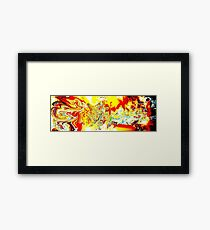 Space Space Space Framed Print