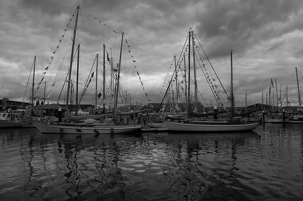Wooden Boat Festival by Allan Park