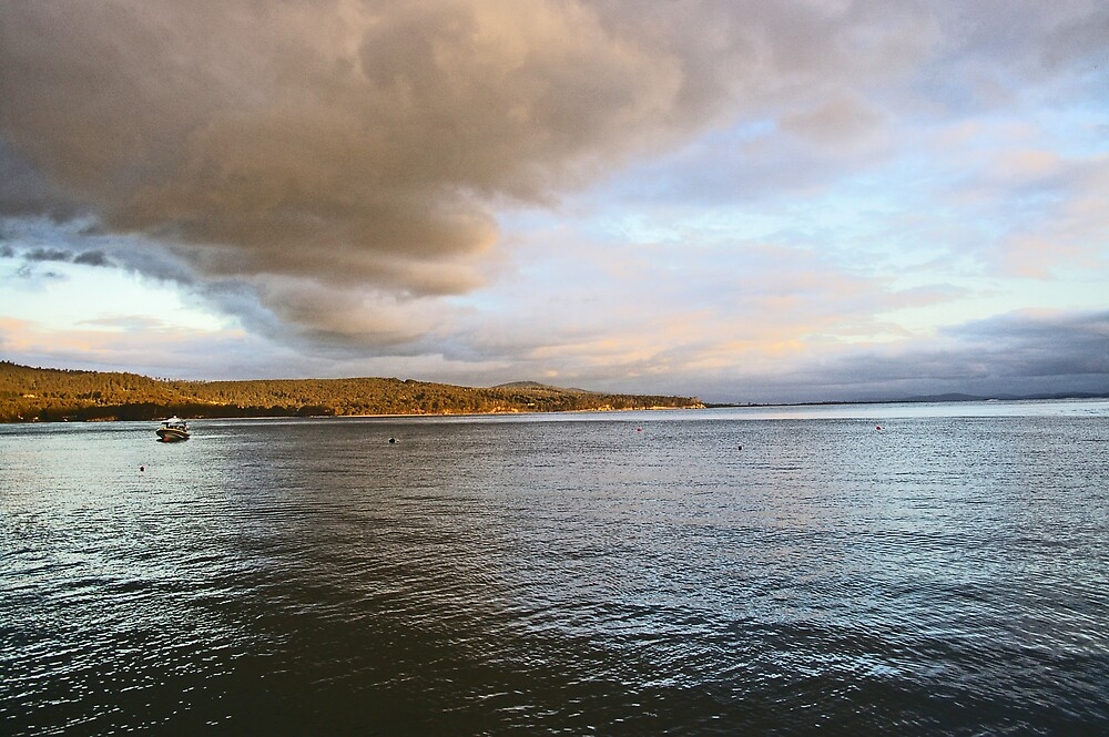 Adventure Bay, Bruny Island, Tasmania by Allan Park