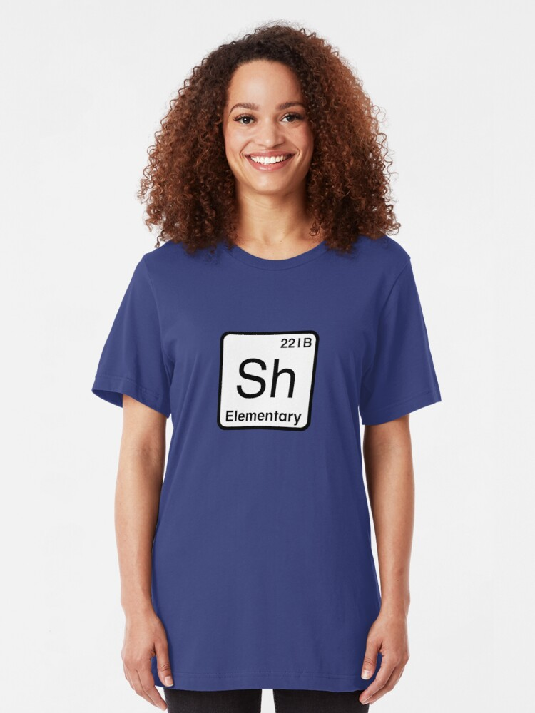 Alternate view of The Atomic Symbol for Detection  Slim Fit T-Shirt