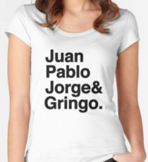 El Fab Quatro Women's Fitted Scoop T-Shirt