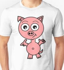 Howie the Pig Unisex T-Shirt
