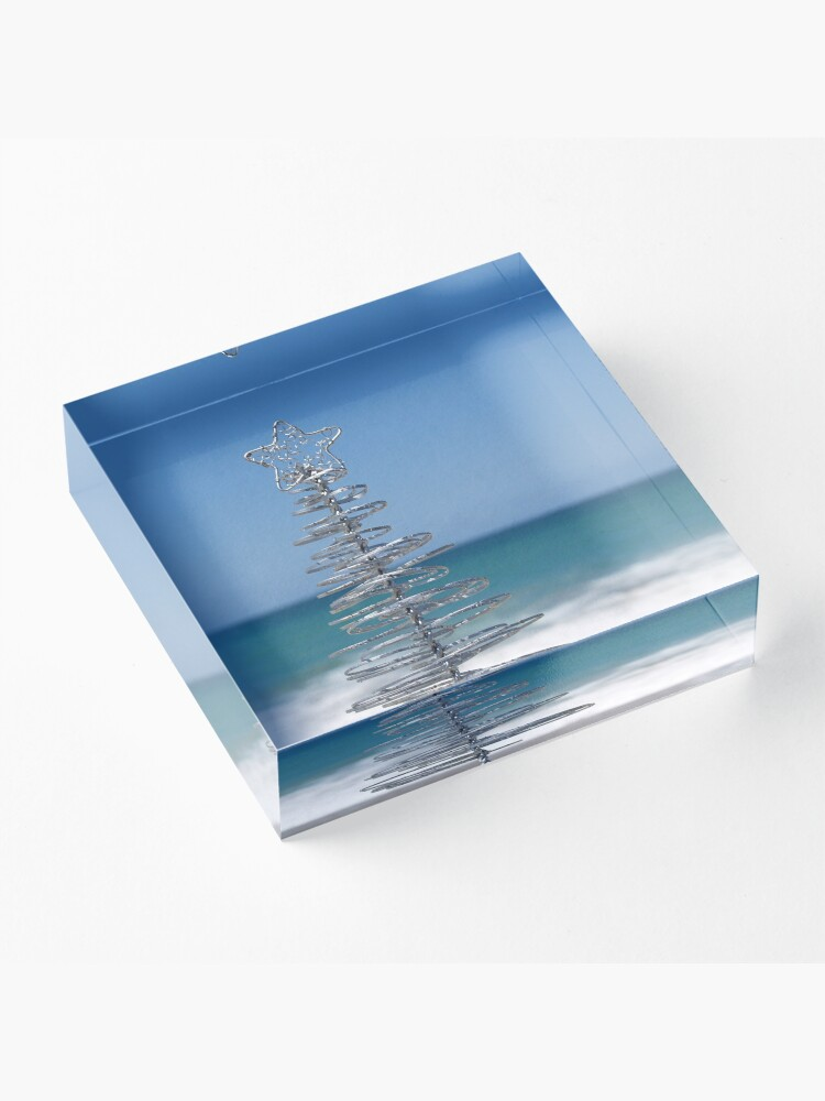 Alternate view of Silver Tree Acrylic Block