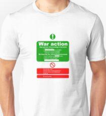 war Action Unisex T-Shirt