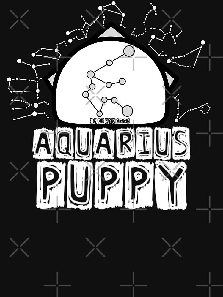 Aquarius Zodiac Pup by NerdyDoggo