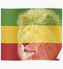 Rasta Lion #1 Poster