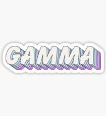 pop art 1.5 - gamma Sticker