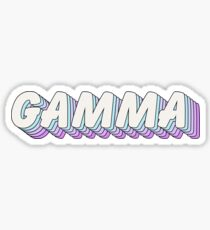 pop art 1.5 - gamma Sticker