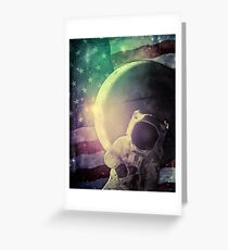 Adventure In Space Greeting Card