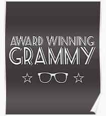 Award Winning Grammy Poster